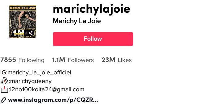 Marichy La Joie ( marichylajoie) TikTok Watch Marichy La Joie's Newest TikTok Videos